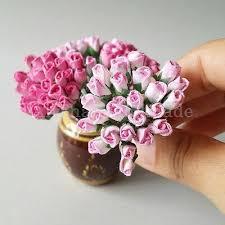 Paper Flower Designs 50mix Pink Mini Tiny Rose Scrapbook Craft Mulberry Paper Flower Wedding Card Bud Ebay