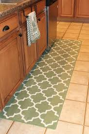 nice green runner rug with kitchen rugs ideas mint