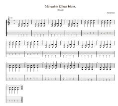 Blues Chords Guitar Chart Blues Guitar Chords
