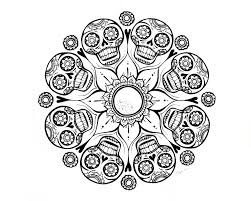 Small Picture Skull Mandala Coloring Pages am selling PDF downloads in my Etsy