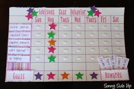 5 Year Old Behavior Chart Star Behavior Charts Re Born Star Behavior Charts Kids