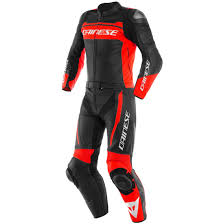Dainese Mistel Black Matt Fluo Red Black Matt Suit