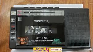 Mua Đài Radio Cassette Wintech SCT - R225-K Có Thẻ Nhớ Và USB Hàng Nhật Nội  Địa Ở Đâu?