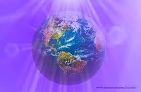 Resultado de imagen para Luz Violeta envolviendo a la Tierra