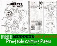 Small Picture Muppets Coloring pages Coloring pages for kids Pinterest