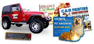Inexpensive Custom Car Door Magnets In Bulk Promotional In Full