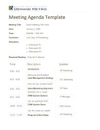 Agenda Template Doc agenda template doc Cityesporaco 1