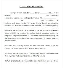 Short Templates Consulting Agreement Template Pdf Consulting Agreement Template