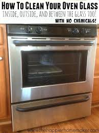 easy step by tutorial showing how to clean oven glass including the secret kenmore door replacement