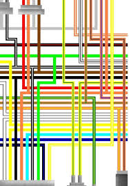 suzuki gsxr750 colour electrical wiring diagrams suzuki gsxr 750 f g usa spec colour wiring diagram