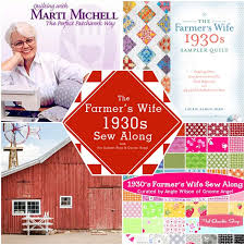 1930s Farmer's Wife Quilt Along with From Marti Michell Templates & 1930s Farmer's Wife Quilt Along Adamdwight.com
