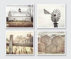 farmhouse decor rustic country set of 4 modern farmhouse decor intended for 2018 farmhouse wall art