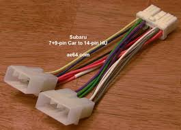 ae64 com subaru radio wiring harnesses products prices 7 9 pin to 14 pin