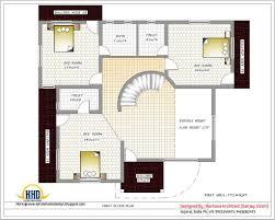 Indian House Designs And Floor Plans India House Plans First Floor Plan 3200 Sq Ft House Floor