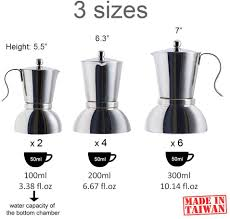 It doesn't need to be expensive to work great, and this particular coffee pot is no exception. Italian Espresso Coffee Maker Greca Coffee Maker Moka Espresso Maker Moka Pot For 2 Cup Debut Stainless Steel Stovetop Espresso Maker 3 3 Oz Stovetop Espresso Moka Pots Home Kitchen