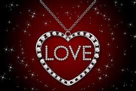 i love you diamonds silver diamond