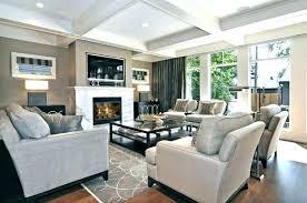 Tan Living Room Interesting Design