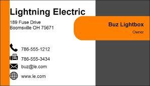 Sample Business Card Template Barca Fontanacountryinn Com