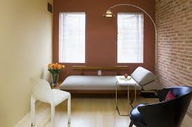 office with daybed. Dc Metro Office Daybed Living Room Modern With Exposed Brick Contemporary Artificial Floral Arrangements