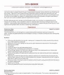 714 Electricians Cv Examples Construction Cvs Livecareer