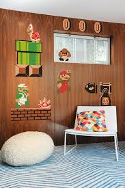 vintage decor clic:  fun pieces of clic video game home decor homes and hues