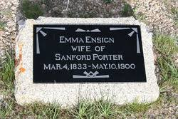 Emma Priscilla Ensign Porter (1833-1900) - Find A Grave Memorial