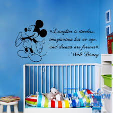 Mickey Mouse Bedroom Decor Zspmed Of Mickey Mouse Wall Decor