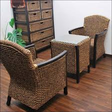 Bali water hyacinth Cafe table and Chair 2 leg set Center tables  Asian  furniture and