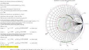 Bandwidth Analysis Of A Single Stub Matching System Using