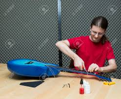 Guitar Technician Guitar Technician Cutting The Old Strings Away Series With Stock