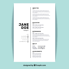 Create Perfect Resume 5 Resume Design Principles To Create The Perfect Resume