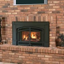 gas log fireplace glass doors open or closed ideas