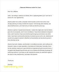 Character References Examples Luxury Character Reference Letter ...