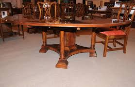 Expandable Circular Dining Table Round Expandable Dining Table Surripuinet