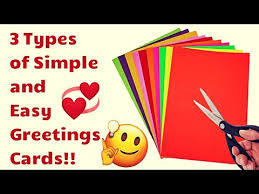 Chart Paper Greeting Card 3 Types Of Greeting Card Chart Paper Greeting Card