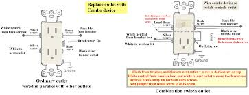 how to wire a switch plug combo wiring diagram show