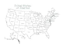 Map Of Usa Coloring Page Map Of Coloring Page Map Coloring Pages