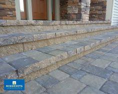 patio pavers over concrete. Plain Over Adhering Concrete Pavers Over The Stoop And Steps Is A Great Way  To Use And Patio Pavers Over Concrete S