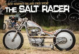 The Salt Racer - The Cycle Source Magazine World Report