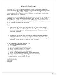 how to write a cause and effect essay examples nuvolexa  904382180422 cause and effect of writing numbers in an essay write how to a good 007452672