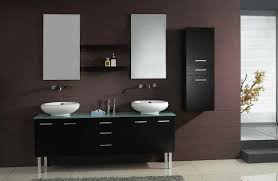 of vanity with two sinks for small bathroom with minimalist designs bathroom furniture designs