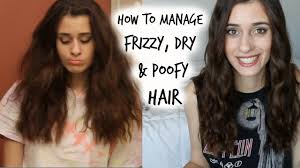 How To Manage Curly Frizzy Poofy Hair My Hair Care Routine