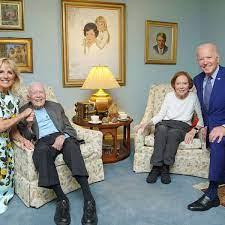 Joe Biden: Bizarres Foto vom Besuch bei ...
