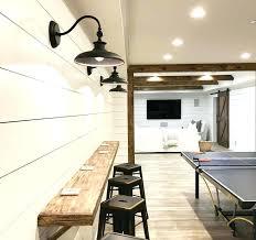 best basement lighting. Basement Lighting Options Best Room  Design Images On Low Ceiling .