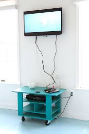 how to hide cords on a wall tv wires mount uk mounted