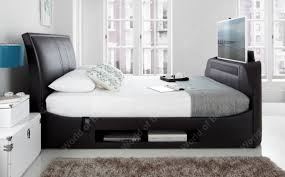 Bed With Tv Built In Bed With Tv In Footboard Rounded Dolly Foshan Golden Furniture