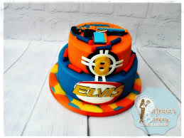 Nerf gun cake – Patricia s Bakery
