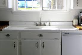 vintage sink in non vintage kitchen cool retro kitchen sink home