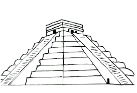 Small Picture Aztec Mayan Coloring Pages