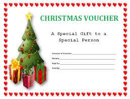 free printable christmas gift certificate templates christmas present voucher templates free christmas gift certificate